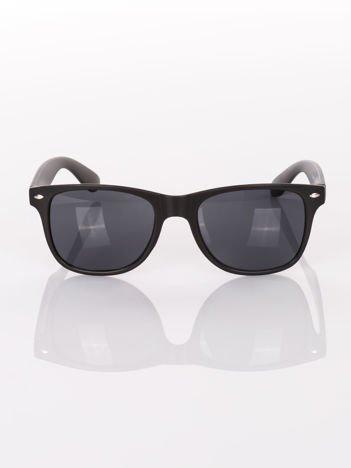 Czarne okulary przeciwsłoneczne WAYFARER