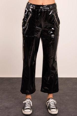 Czarne spodnie BSL