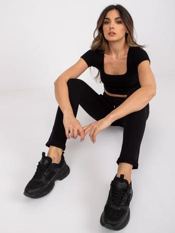 Czarne spodnie Cadence
