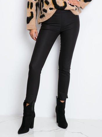 Czarne spodnie Glitter
