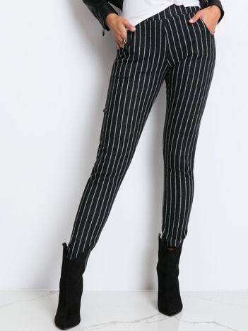 Czarne spodnie Lambada