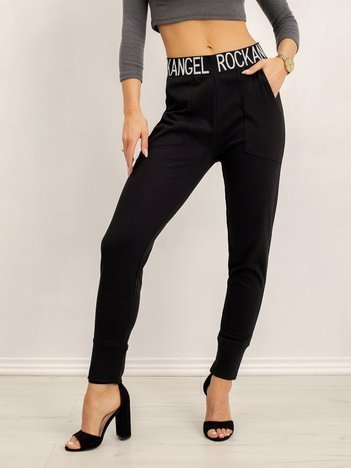 Czarne spodnie Maybel
