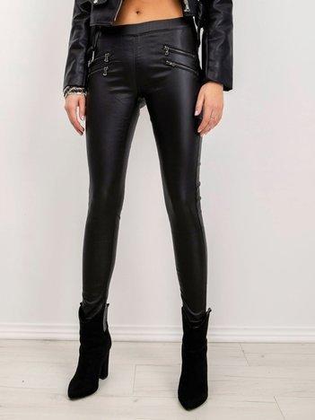 Czarne spodnie Roxanna