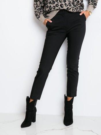 Czarne spodnie Shanie