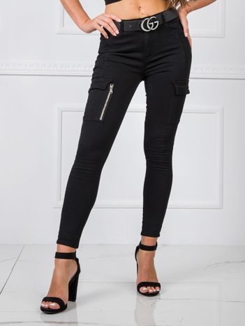 Czarne spodnie Sophia