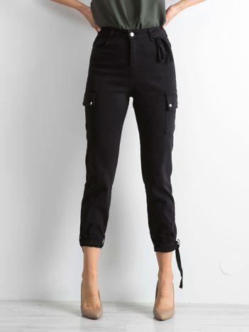 Czarne spodnie Vintage