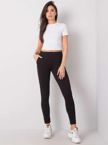 Czarne spodnie dresowe Misha RUE PARIS