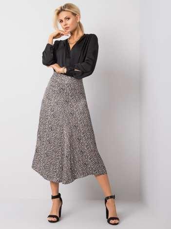 Czarno-beżowa spódnica Monica RUE PARIS