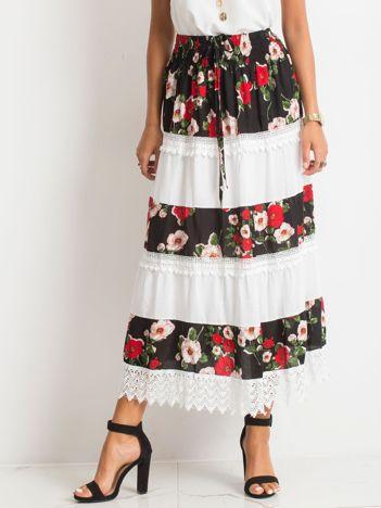 Czarno-biała spódnica Breakout