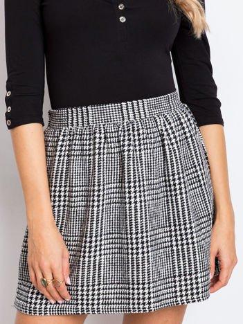 Czarno-biała spódnica Horizon
