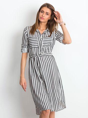 006ac5be9b Czarno-biała sukienka Attached
