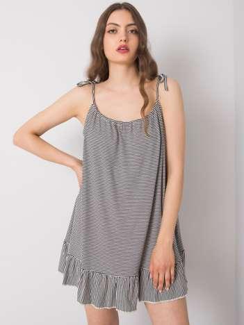 Czarno-biała sukienka Fernand