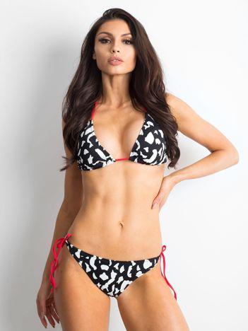 Czarno-białe bikini Crowded