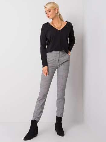 Czarno-białe spodnie Baylee RUE PARIS