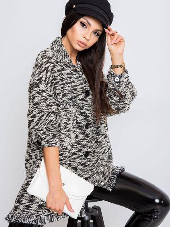 Czarno-biały sweter Felicity
