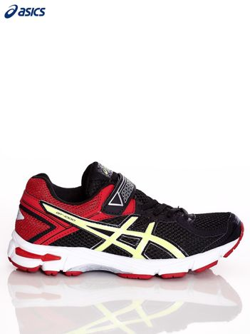 Czarno-czerwone buty sportowe ASICS GT-1000 4 PS