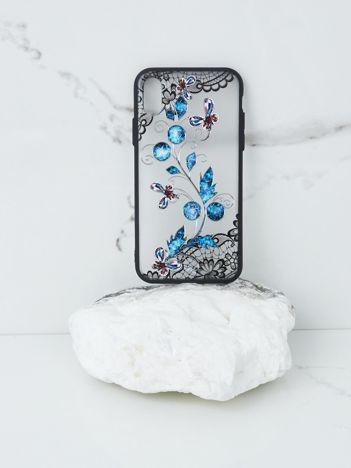 Czarno-niebieskie etui do iPhone X