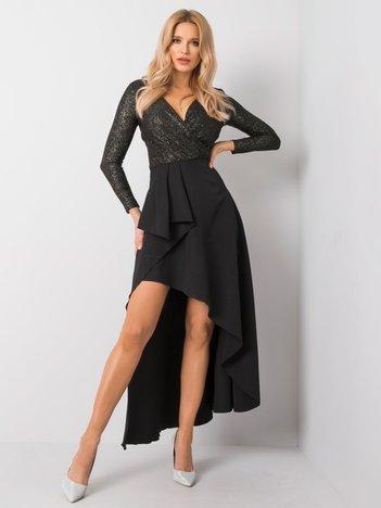 Czarno-złota sukienka Blanche