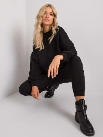 Czarny komplet dresowy Amandine