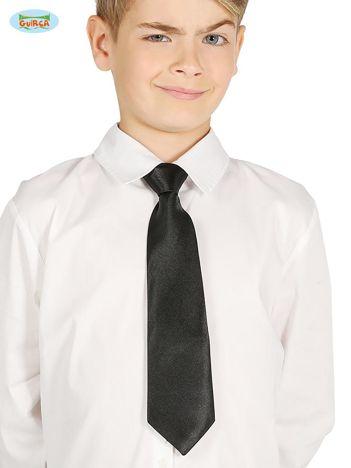 Czarny krawat dziecięcy karnawałowy