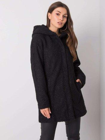 Czarny płaszcz Beverly