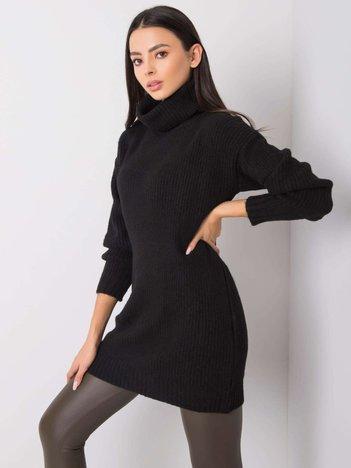 Czarny sweter Ashanti RUE PARIS