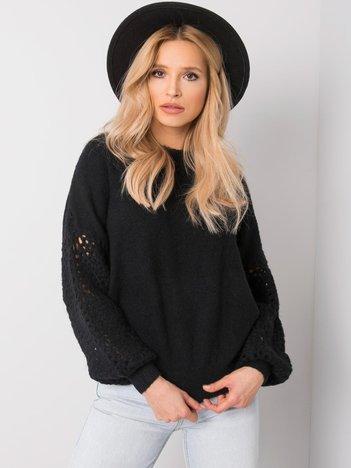 Czarny sweter Gioia
