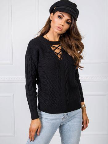 Czarny sweter Marina
