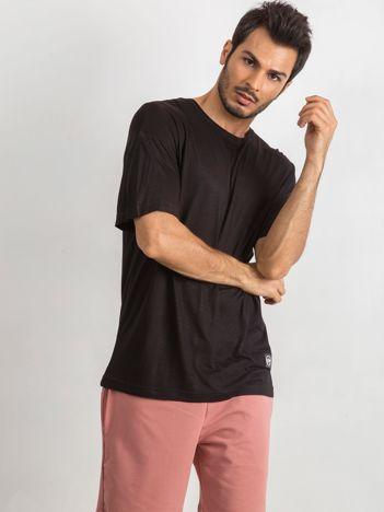 Czarny t-shirt męski Better