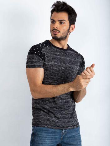 Czarny t-shirt męski Everyday