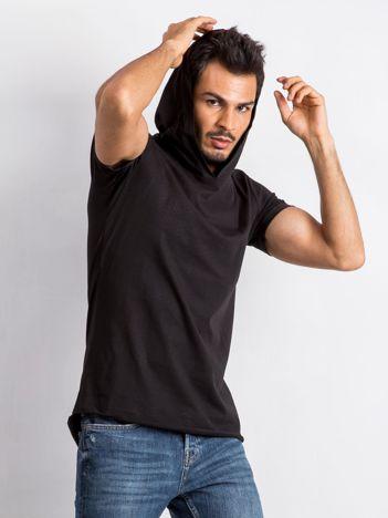 Czarny t-shirt męski Lifter