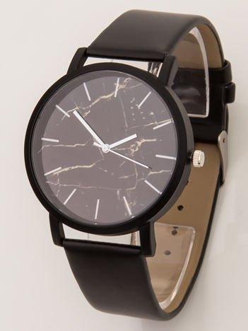 Czarny zegarek MARMUR