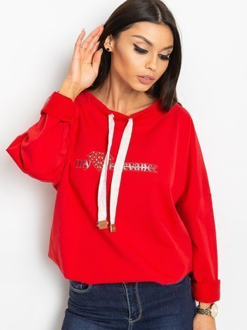 Czerwona bluza Blink