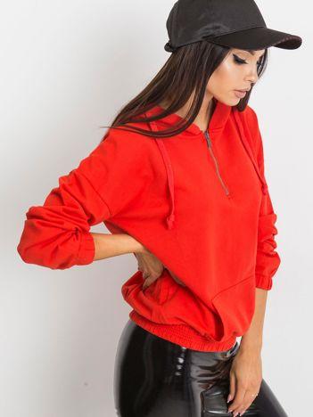 Czerwona bluza Kimmie