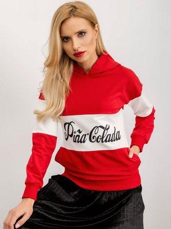 Czerwona bluza Selena