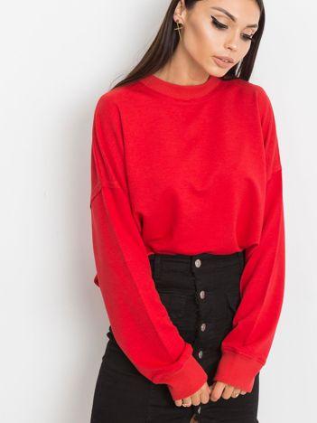 Czerwona bluza Wild