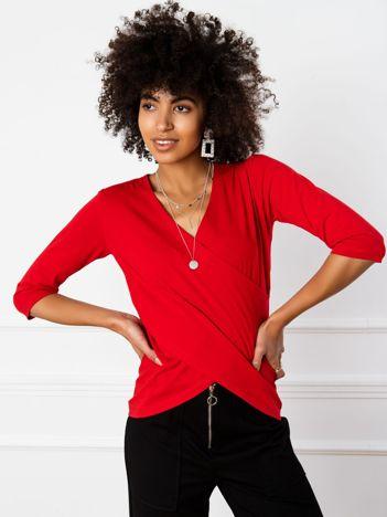 Czerwona bluzka Amanda