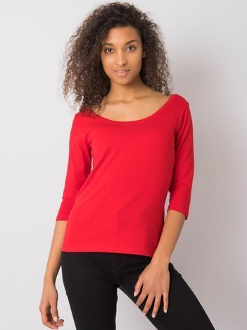 Czerwona bluzka Bernice RUE PARIS