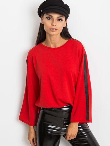 Czerwona bluzka Glam