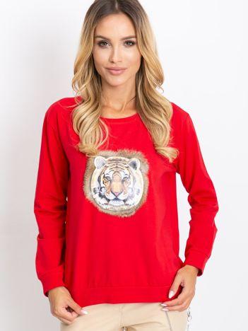 Czerwona bluzka Palma