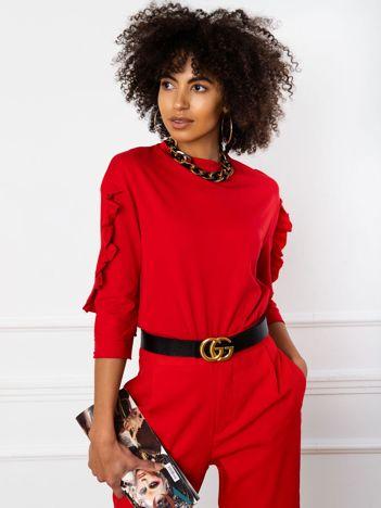 Czerwona bluzka Sarah