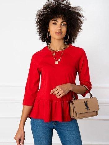 Czerwona bluzka Simone
