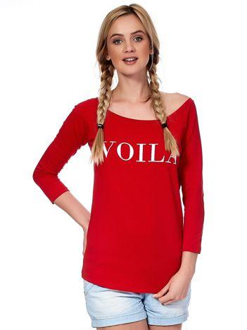 Czerwona bluzka VOILA