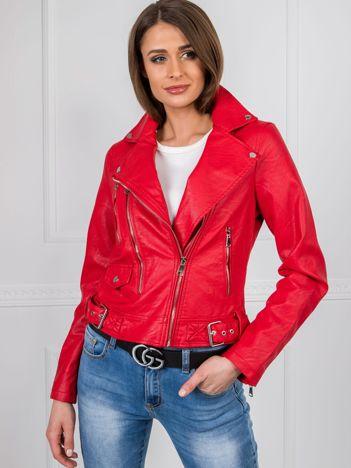 Czerwona kurtka Gabbie