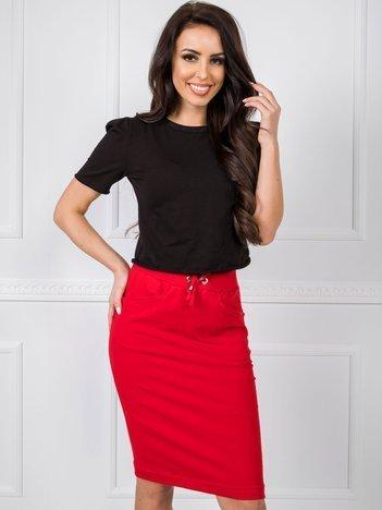Czerwona spódnica Ava