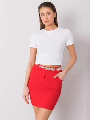 Czerwona spódnica Bonnie