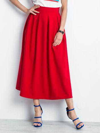 Czerwona spódnica Quirky