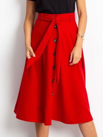 Czerwona spódnica Trust