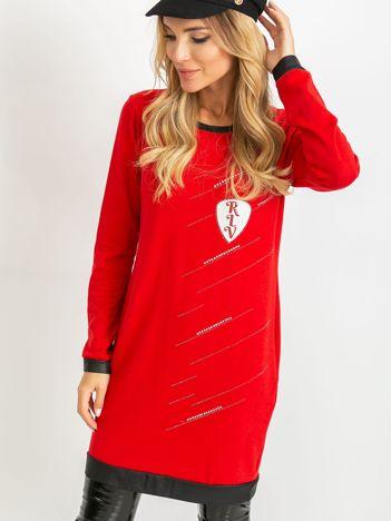 Czerwona sukienka Amour