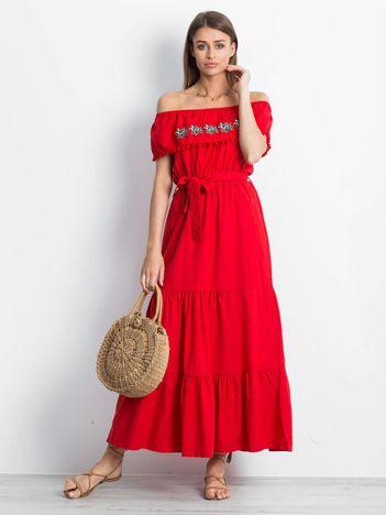 Czerwona sukienka Corsica